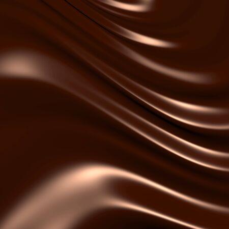 Abstracte chocolade achtergrond (3d opmerkelijke abstracte achtergronden en objecten serie)  Stockfoto