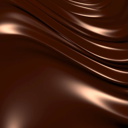 Abstract chocolate background (3d remarkable abstract backgrounds and objects series) photo