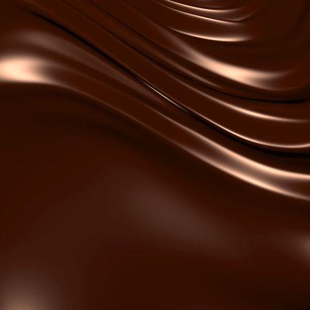 Abstract chocolade achtergrond (3d opmerkelijke abstracte achtergronden en objecten-serie)