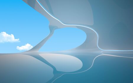 remarkable: Remarkable interiors 3d backgrounds  wallpapers series