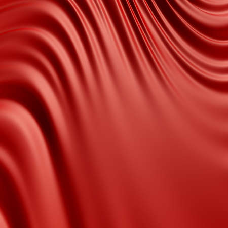 smooth: Abstract red background. Clean, detailed render. Series. Stock Photo