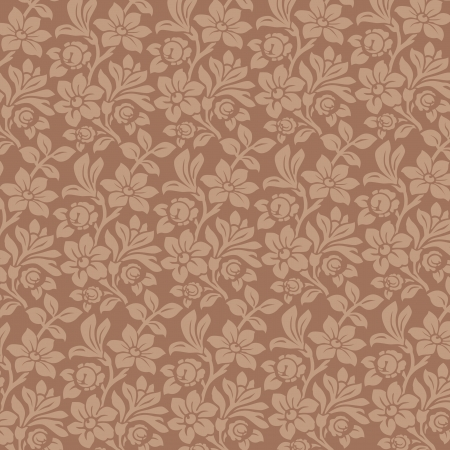 Floral Ornamen background. Vintage Floral pattern. Wallpaper. High detailed vector.  Stock Vector - 16385147