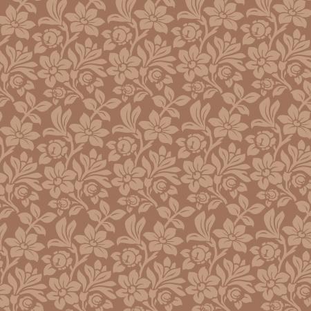 Floral Ornamen background. Vintage Floral pattern. Wallpaper. High detailed vector. Stock Vector - 16385147
