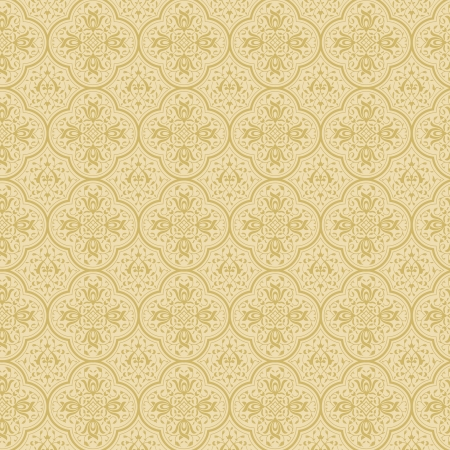 Vintage floral background  Seamless pattern  Luxury background Stock Vector - 17203633