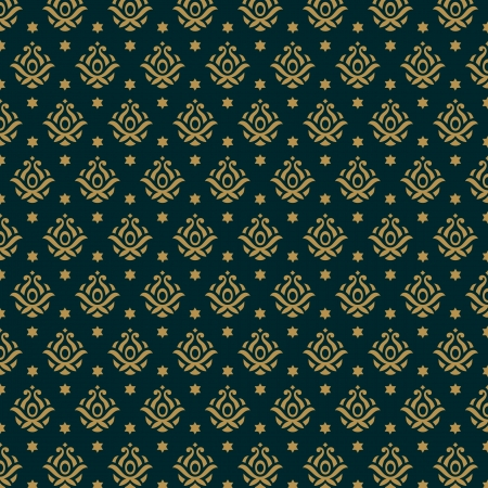 Fashion luxury pattern  Seamless texture background Stock Vector - 17221447