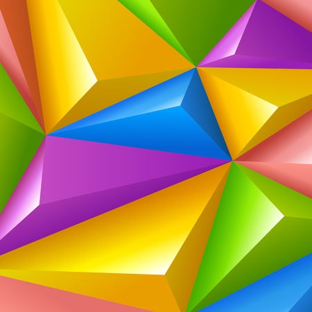 Colorful polygons triangle shapes vector Background Abstract