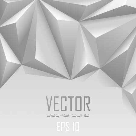 Background abstract triangle polygon trendy style with copyspace  Vector