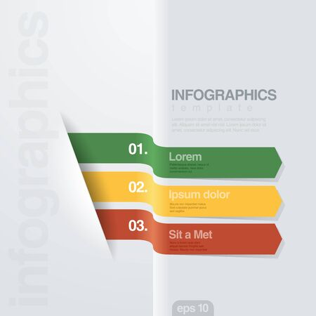 planing: Infographics vector design template