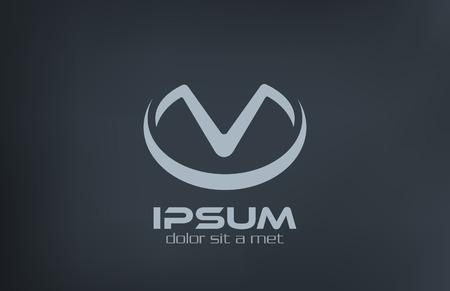 V 文字ロゴ アイコン デザイン テンプレート ビジネス ファッション記号