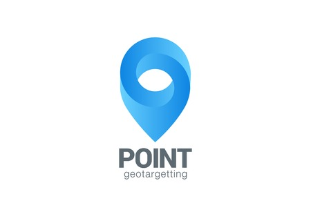 map pin: Location Pin map symbol vector design template. Geo point navigation  Illustration
