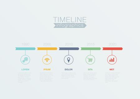 Infographies vecteur modèle de conception calendrier pour les rapports financiers de l'entreprise, site web, statistiques infographiques. Modifiable. Banque d'images - 31788733