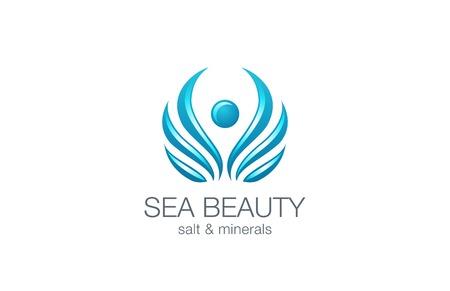 schönheit: Beauty Fashion Luxury Logo abstrakte Design-Vorlage Vektor. Illustration