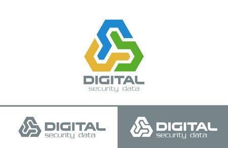 technologia: Biznes Streszczenie nieskończoność Zapętlone Triangle logo wektor szablon. Wielofunkcyjny Technologia Triple Corporate Logotyp koncepcji ikony.