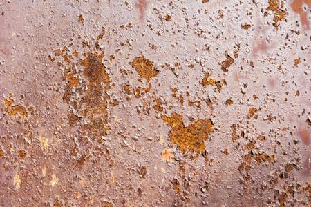 Detail of rust metal texture