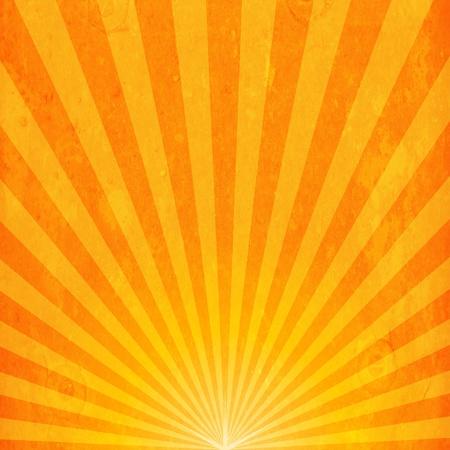 rayos de sol: Grunge puesta de sol de fondo
