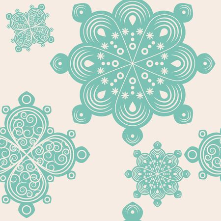 handmade graphic texture: Seamless lace ornament background illustration Stock Photo