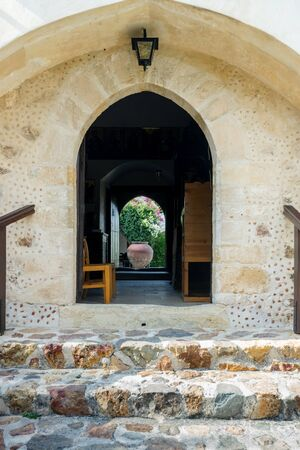 holiness: Cyprus. the village of Mosfiloti the Monastery of Saint Thekla.