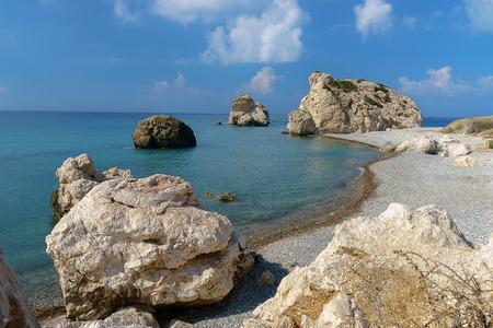 aphrodite: Chipre, la Bahía de Afrodita. De cerca.