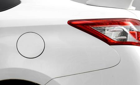 Car fuel tank oil cover