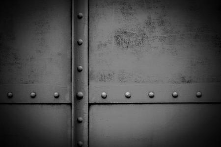 alte Metallplatte - Hintergrund
