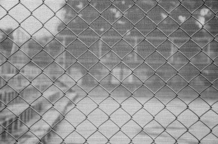steel wire mesh / fence steel wire mesh Standard-Bild - 124525998