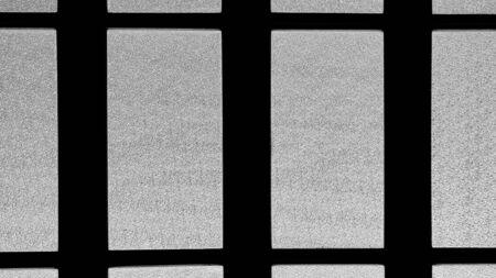 Milchglasstruktur am Fenster Standard-Bild
