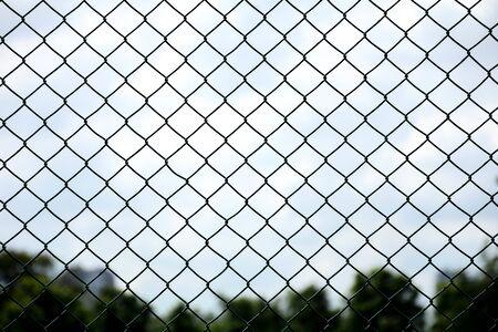 cage metal net at jail