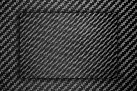 Carbon fiber composite raw material background. -  space for advertising message. Standard-Bild