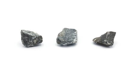 collection of a small rock isolated on white background Stock fotó