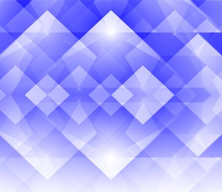 Blue and white abstract geometric background - modern style 版權商用圖片