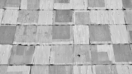 old, rusty and damage metal sheet roof texture 版權商用圖片