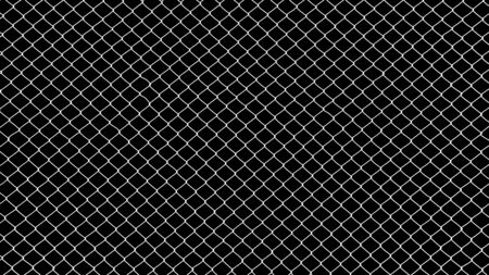 cage metal wire on black background Фото со стока