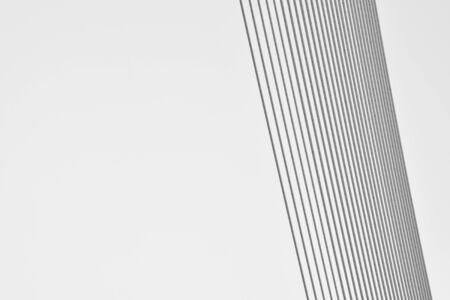 pattern of wire rope at Suspension bridge - abstract background - monochrome Stok Fotoğraf