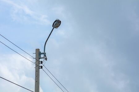 Electricity Post and Street Light