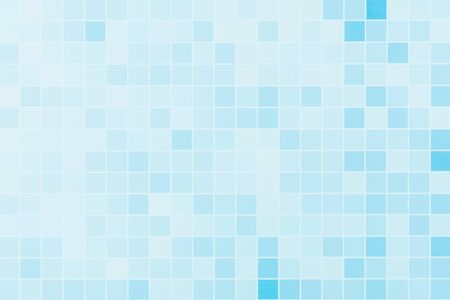 gradient of abstract blue grid tile wall. Фото со стока
