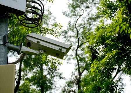 CCTV Security camera. Фото со стока
