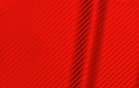 red carbon fiber composite raw material background.