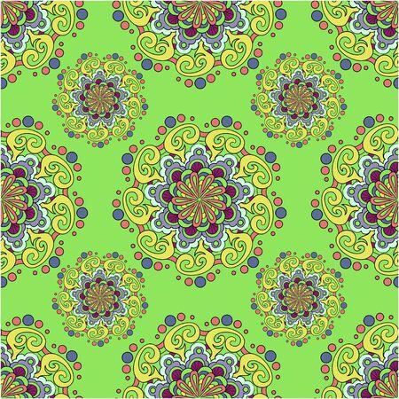 wallpape: Seamless abstract pattern