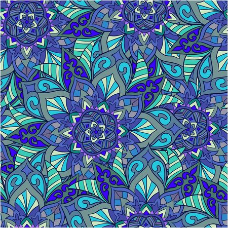fabric art: Seamless abstract  pattern