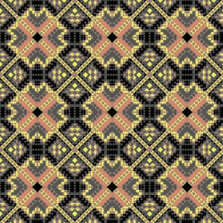 Seamless mexican pattern for printing on paper or fabric. Vector illustration