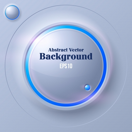 Abstract Circle Futuristic Background Vector
