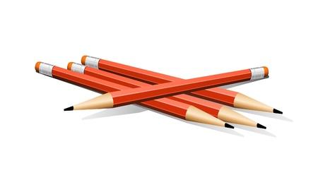 short break: Four Red Pencils