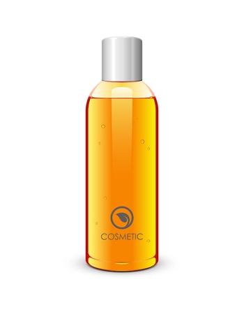 complexion: Bottle Of Gel Orange