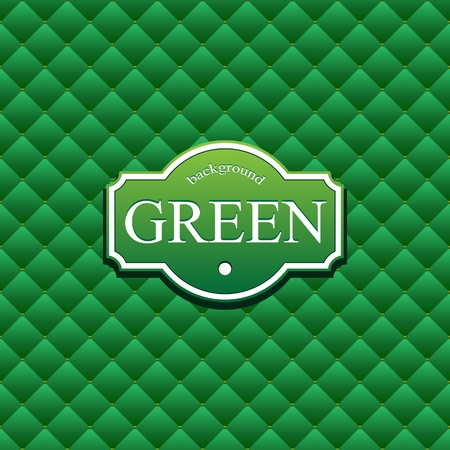 grid background: Green background with squares