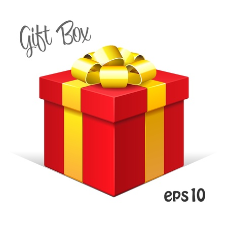 close icon: Red Gift Box