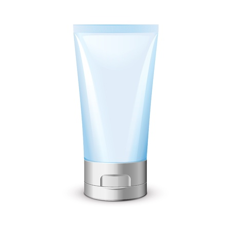 aftershave: Blue Clean Tube Of Cream