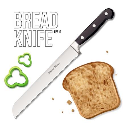 paring: Bread Knife  Illustration