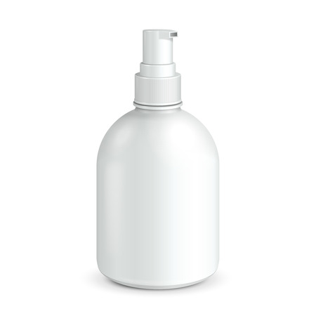 dispenser: Gel, Foam Or Liquid Soap Dispenser Pump Plastic Bottle White  Ready For Your Design  Product Packing
