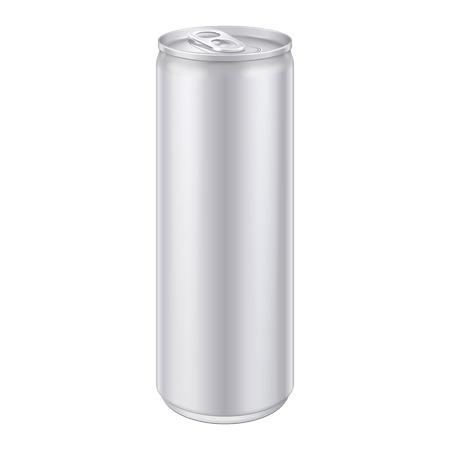金属アルミニウム飲料飲むことができます、デザイン製品梱包ベクトル EPS10 の準備ができてください。