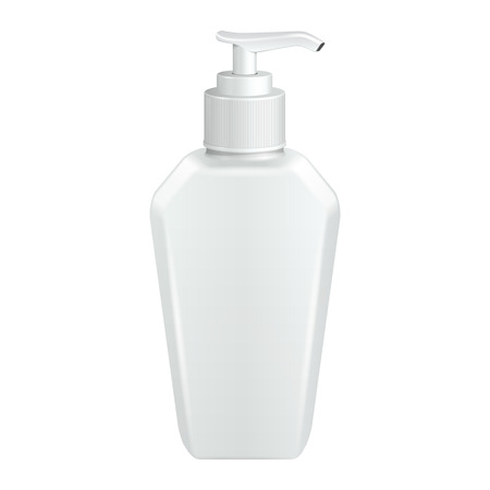 dispenser: Gel, Foam Or Liquid Soap Dispenser Pump Plastic Bottle White